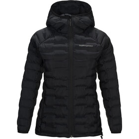 Peak Performance Argon Light Chaqueta con capucha Mujer, black